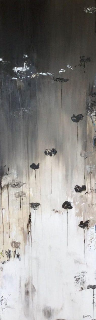 Bali taupe schilderij van atelier landfort sabrine swanenberg van gelder - Bruin taupe schilderij ...