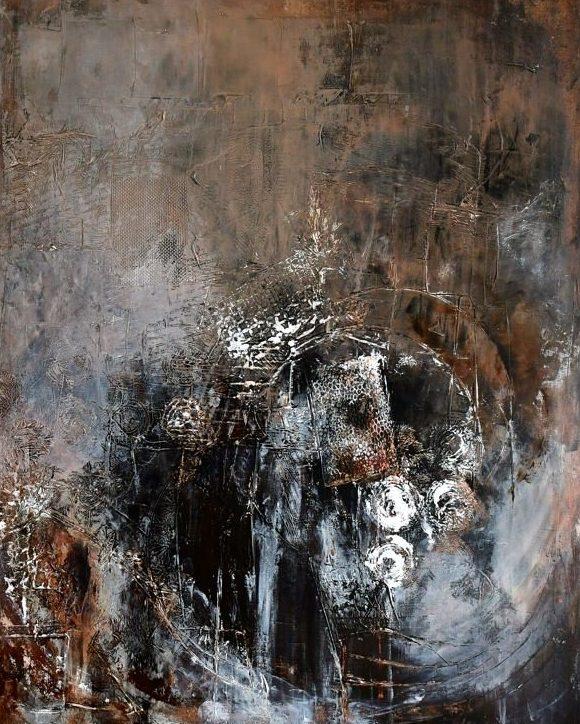 Schilderij Met Eigen Foto.Untitled Schilderij Van Uit Eigen Atelier Ineke Tijsseling